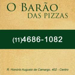 O Barão das Pizzas | São Lourenço da Serra/SP