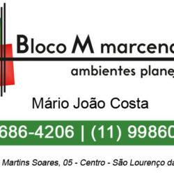 Bloco M Marcenaria e Decoração - São Lourenço da Serra/SP