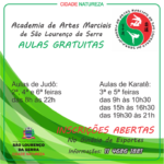 AAMSLS - Academia de Artes Marciais de São Lourenço da Serra