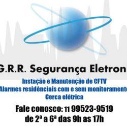 G.R.R. Segurança eletrônica - CFTV, Alarmes e Cerca elétrica