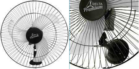 Ventilador de parede Delta Premium 50cm