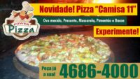 Pizza Camisa 11 na Power!