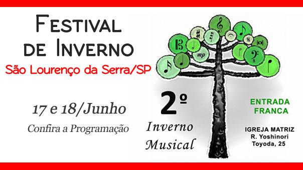 II Festival de Inverno de São Lourenço da Serra SP