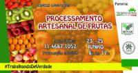 Prefeitura traz curso de Processamento Artesanal de Frutas