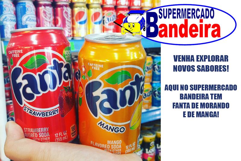 Venha curtir novos sabores no Supermercado Bandeira!