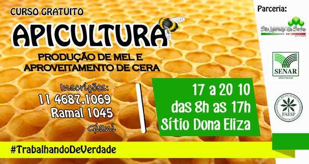 Curso de Apicultura em São Lourenço da Serra