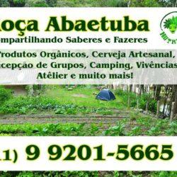Roça Abaetuba - Produtos orgânicos e artesanais, vivência, camping e eventos