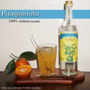 Piraquarinha - Cachaça 100% sãolourençana, desde 1981