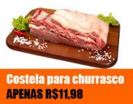 Promoção Nelore Premium - Costela por APENAS R$11,98