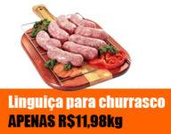 Promoção Nelore Premium - Linguiça por APENAS R$11,98/kg