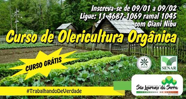 Curso de Olericultura Orgânica