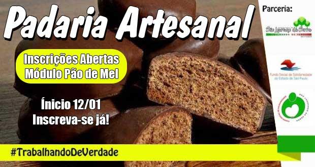 Curso de Padaria Artesanal - Módulo Pão de Mel