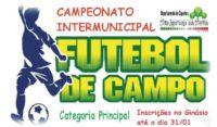 Campeonato Intermunicipal de Futebol de Campo 2018