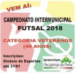 Campeonato Intermunicipal de Futsal (Veteranos) 2018