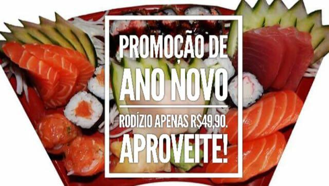 A promoção do rodízio de sushi e sashimi da JR Temakeria voltou!