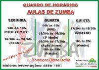 Aulas de Zumba
