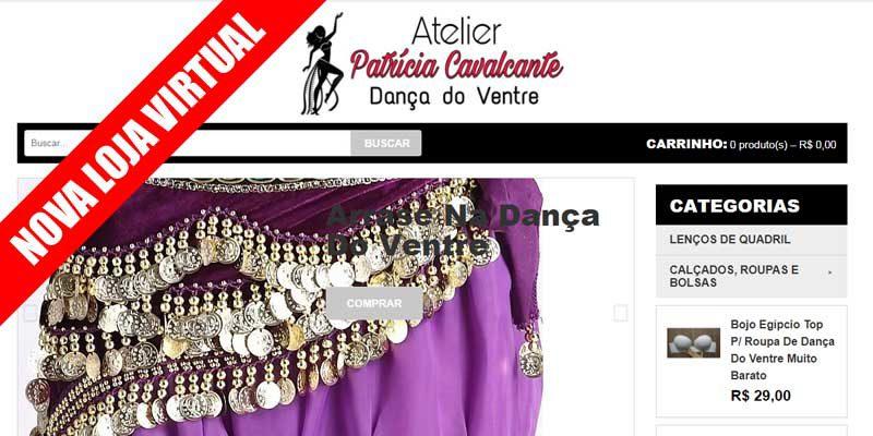 Nova loja virtual do Atelier Patricia Cavalcante