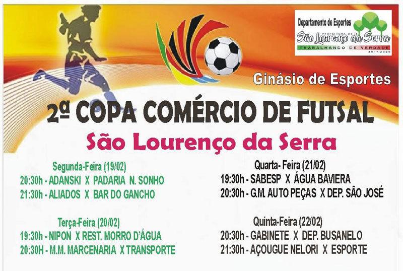 2ª Copa Comércio de Futsal de São Lourenço da Serra