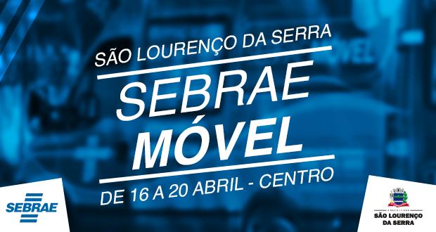 SEBRAE Móvel atenderá em São Lourenço da Serra