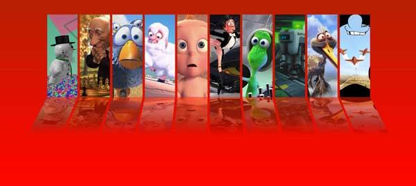 Curtas de Animação da Pixar