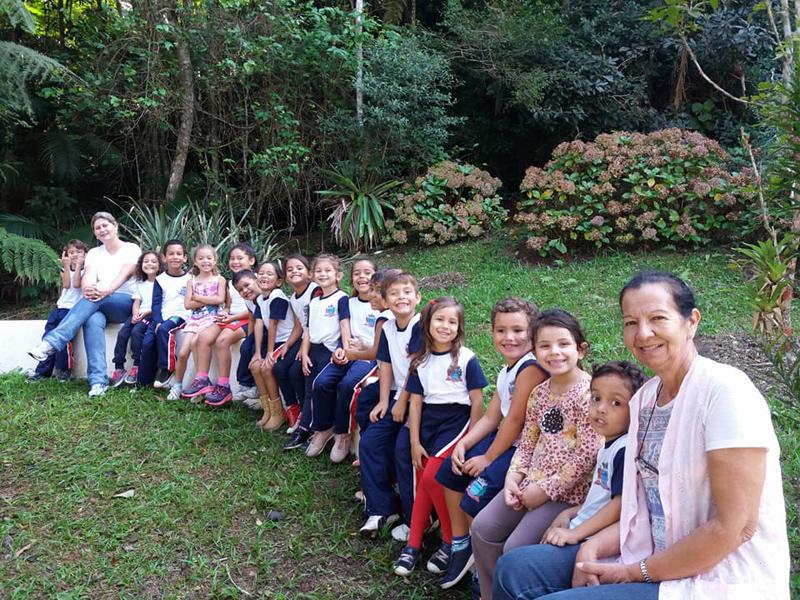 Educação Ambiental para turma do Jardim II - São Lourenço da Serra