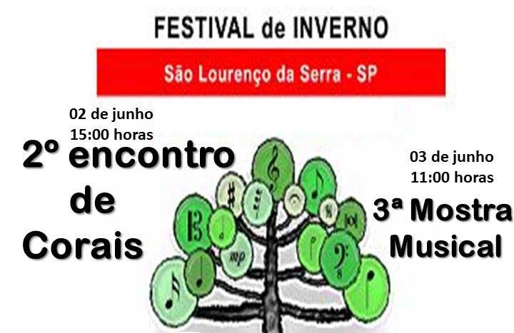 Festival de Inverno 2018 em São Lourenço da Serra