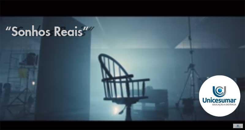 "Campanha ""Sonhos Reais"" da EAD UniCesumar"