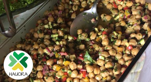 Hauora Empório Alternativo - Receita de Salada de grão de bico