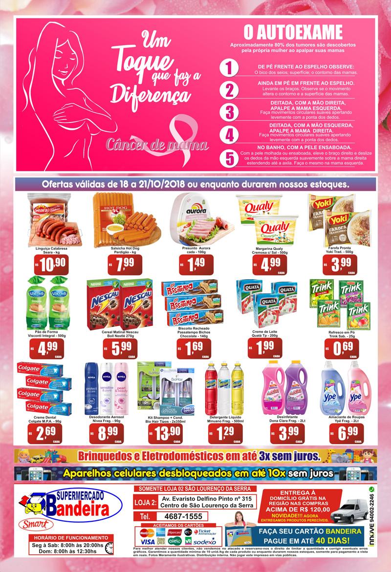 Ofertas do Supermercado Bandeira SLS até 21/10