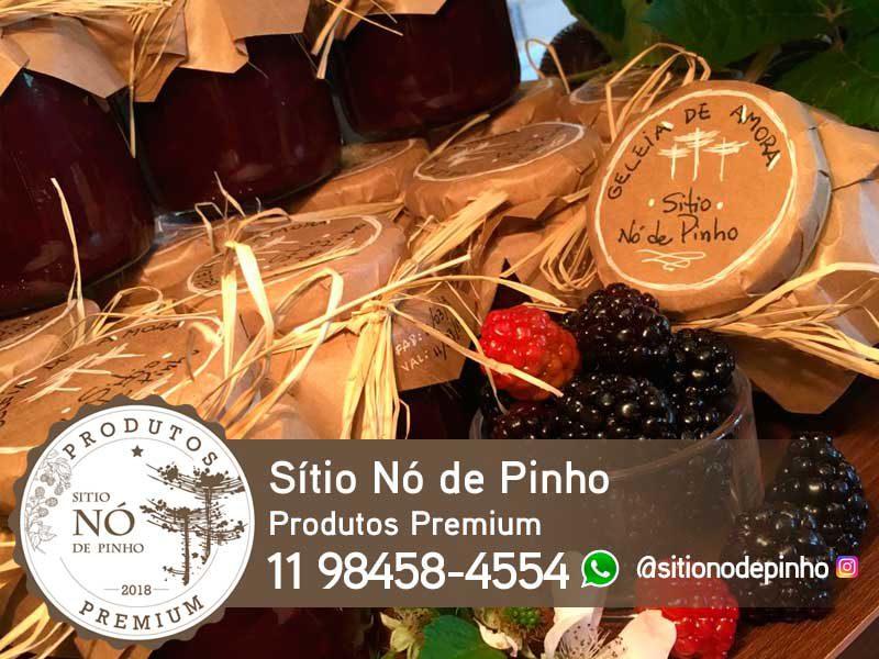 Sítio Nó de Pinho - Produtos Premium cultivados naturalmente