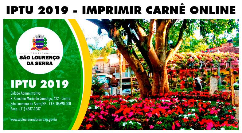 Prefeitura libera IPTU 2019 para emissão online