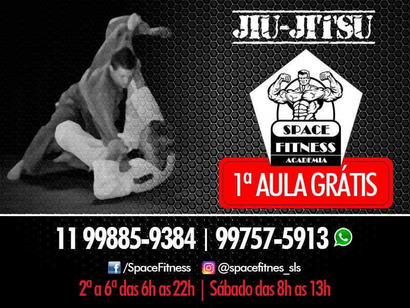Jiu-Jitsu na Space Fitness com aula grátis!