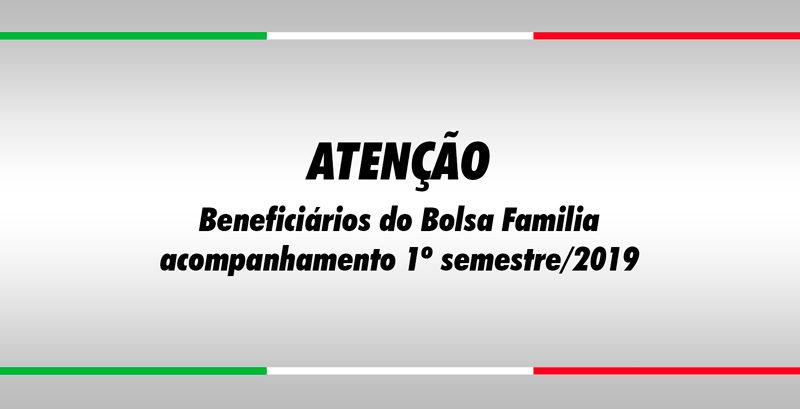 ATENÇÃO - Beneficiários do Bolsa Família