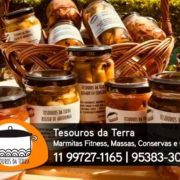 Tesouros da Terra - Marmitas Fitness, Massas Artesanais, Conservas e Geleias