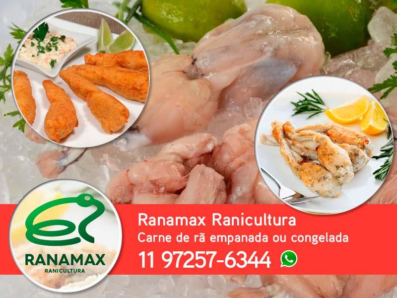 Ranamax Ranicultura - Carne de rã direto do produtor
