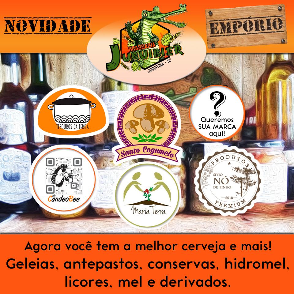 Juquibier lança seu Empório só com produtos regionais - Patrocinado