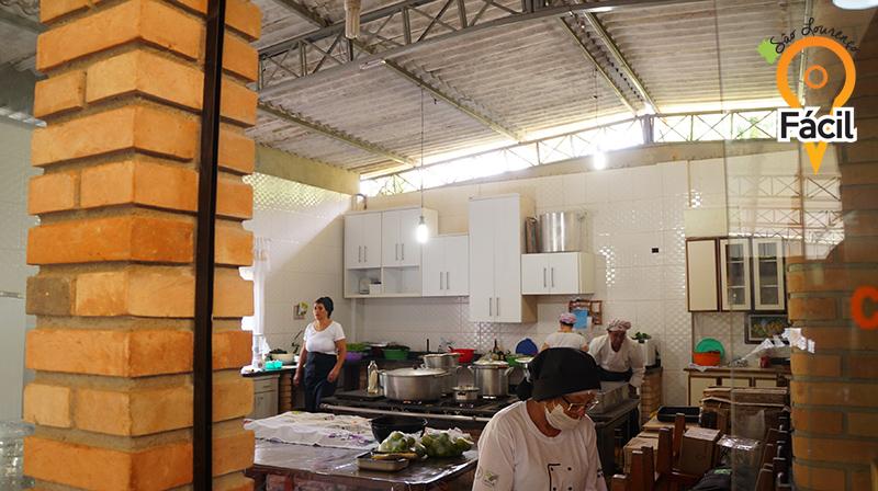 Cozinha - Primeiro Festival de Cogumelos de São Lourenço da Serra