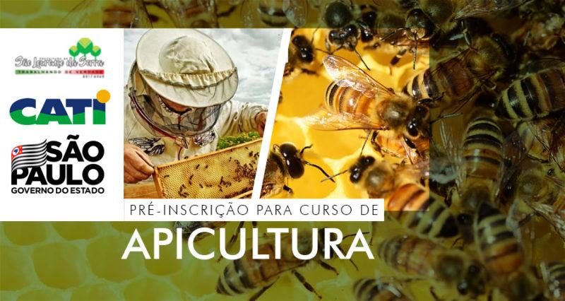 Prefeitura abre pré inscrição para curso GRATUITO de Apicultura