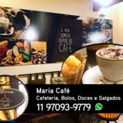 Maria Café - Café barista, bolos, salgados assados