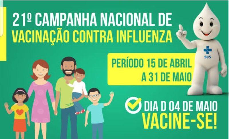 Dia D - Vacinação contra Gripe em São Lourenço da Serra