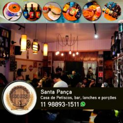 Santa Pança - Casa de Petiscos, lanches, porções, cerveja artesanal e produtos regionais