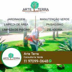 Arte Terra Consultoria verde - Jardinagem, paisagismo, manutenção, zeladoria e mais