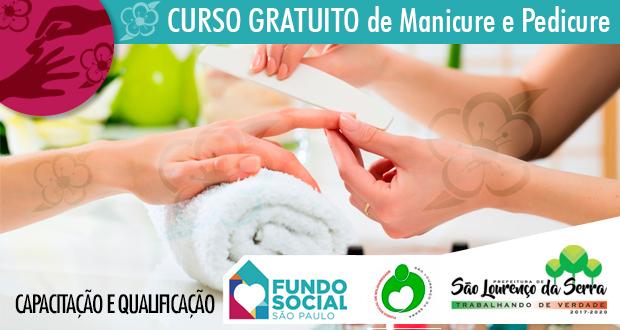 CURSO GRATUITO de Capacitação para Manicure e Pedicure