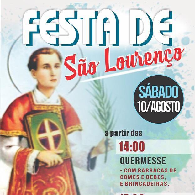Festa de São Lourenço 2019, sábado, 10/08