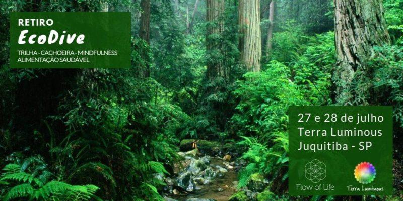 Retiro Eco Dive + Eu S.O.U. Terra Luminous Juquitiba - SP *Patrocinado