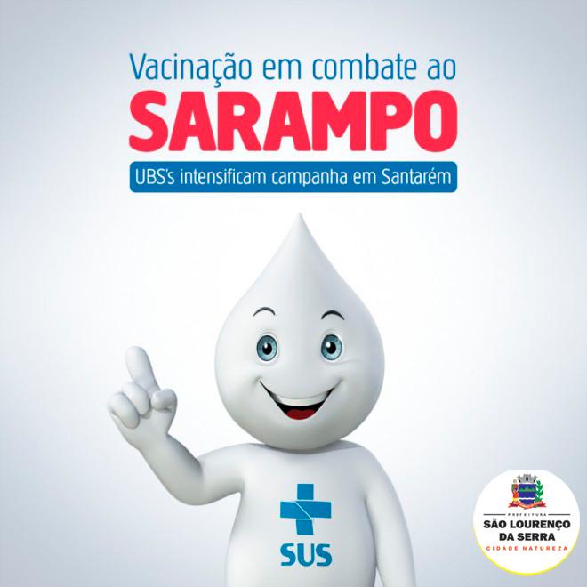 São Lourenço da Serra entra na briga contra o sarampo à partir do dia 05/08!