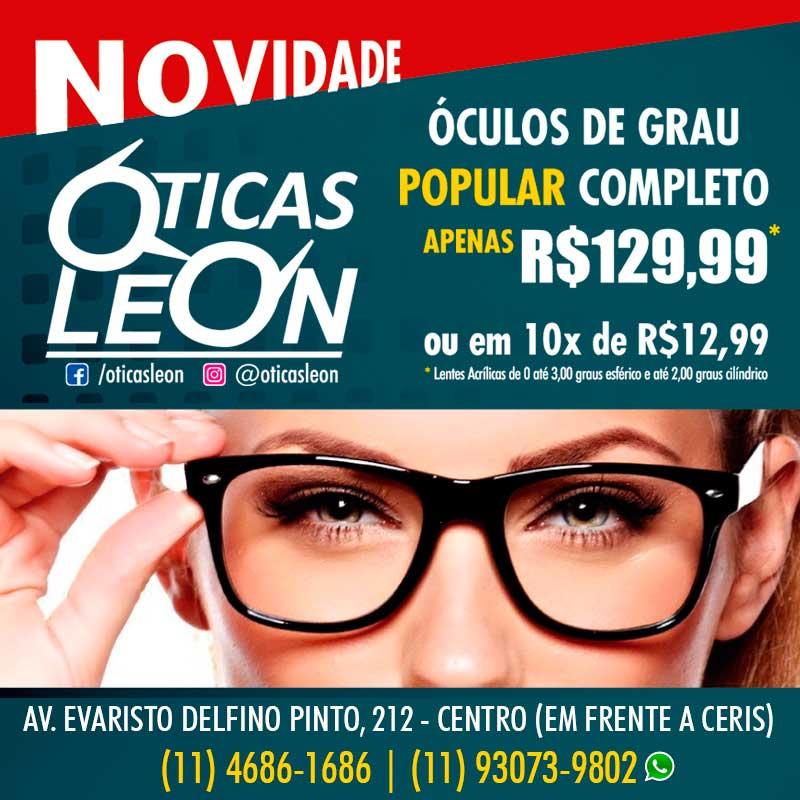 Óticas Leon - O melhor para sua visão!