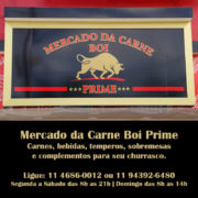 Mercado da Carne Boi Prime - Carnes, bebidas, carvão, temperos, congelados e sobremesas