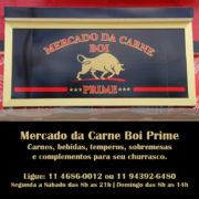 Mercado da Carne Boi Prime - Carnes, bebidas, carvão, temperos, congelados e sobremesas