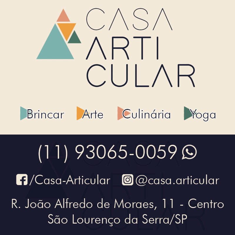 Casa Articular - Arte, Brincar, Culinária, Música, Inglês e Yoga